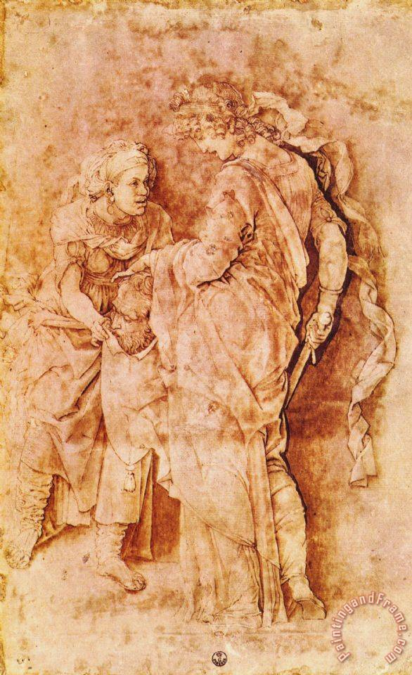Andrea Mantegna Judith with The Head of Holofernes ...