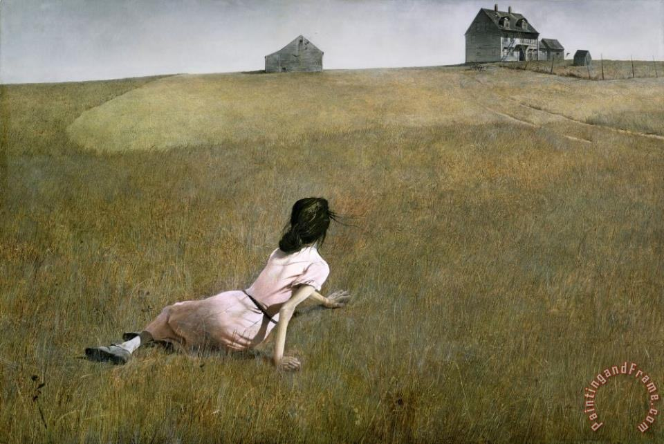 Christina's World 1948 painting - andrew wyeth Christina's World 1948 Art Print