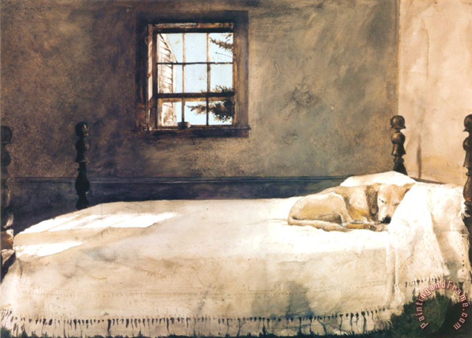 Master Bedroom painting   andrew wyeth Master Bedroom Art Print. andrew wyeth Master Bedroom painting   Master Bedroom print for sale