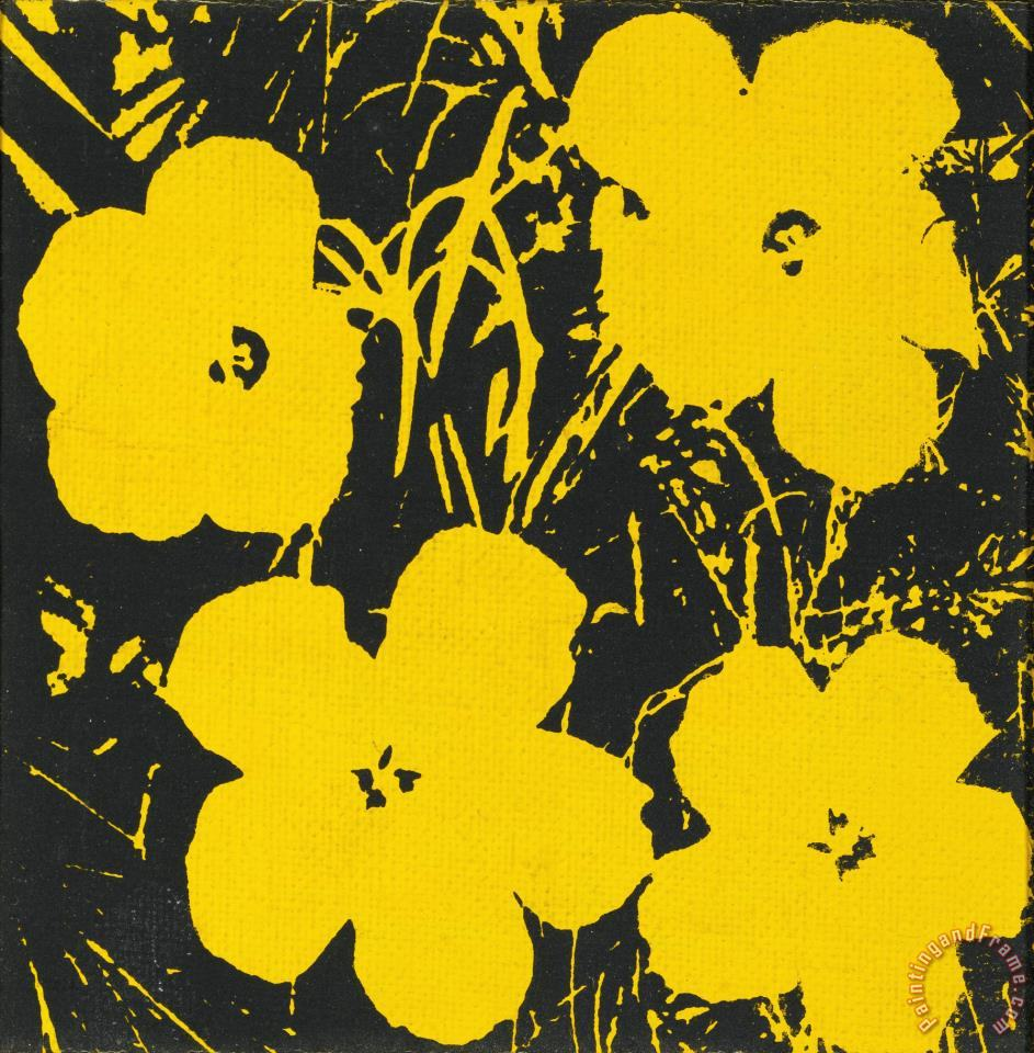 Andy Warhol Flowers 1964 painting - Flowers 1964 print for ...