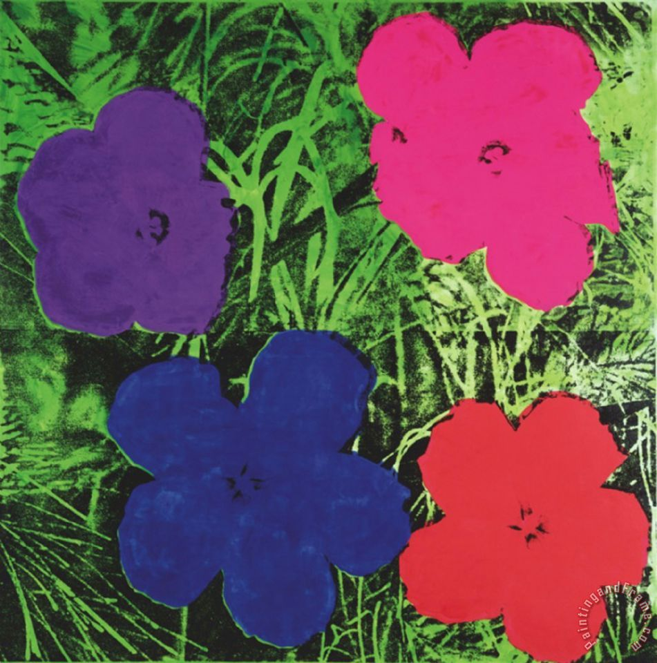 Andy warhol flowers c 1964 1 purple 1 blue 1 pink 1 red painting flowers c 1964 1 purple 1 blue 1 pink 1 red painting andy warhol flowers mightylinksfo