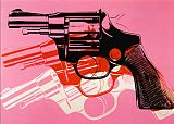 Gun C 1981 82 by Andy Warhol