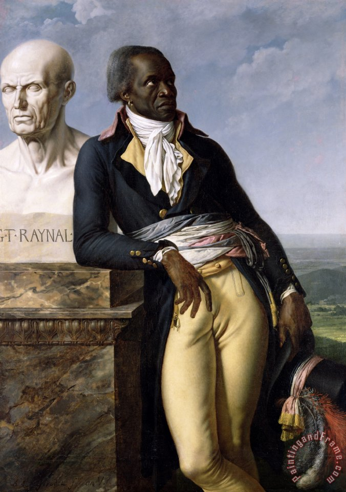 Anne Louis Girodet de Roucy-Trioson Portrait of Jean-Baptiste Belley Art Painting