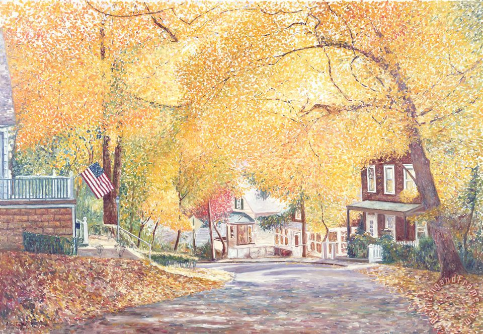 Anthony Butera Hillside Avenue Staten Island Art Print