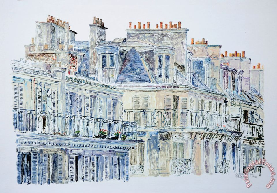 Anthony Butera Rue Du Rivoli Paris Art Print