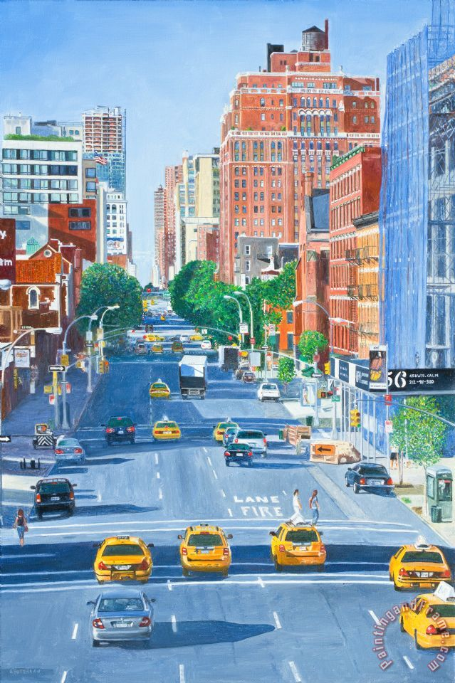 Anthony Butera View From Highline New York City Art Print