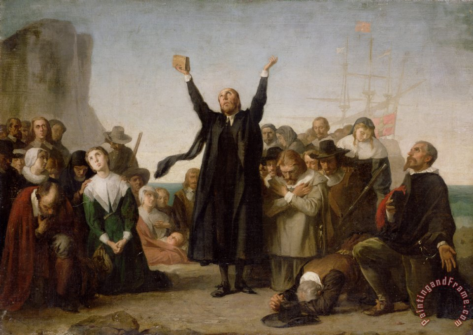 The Arrival Of The Pilgrim Fathers