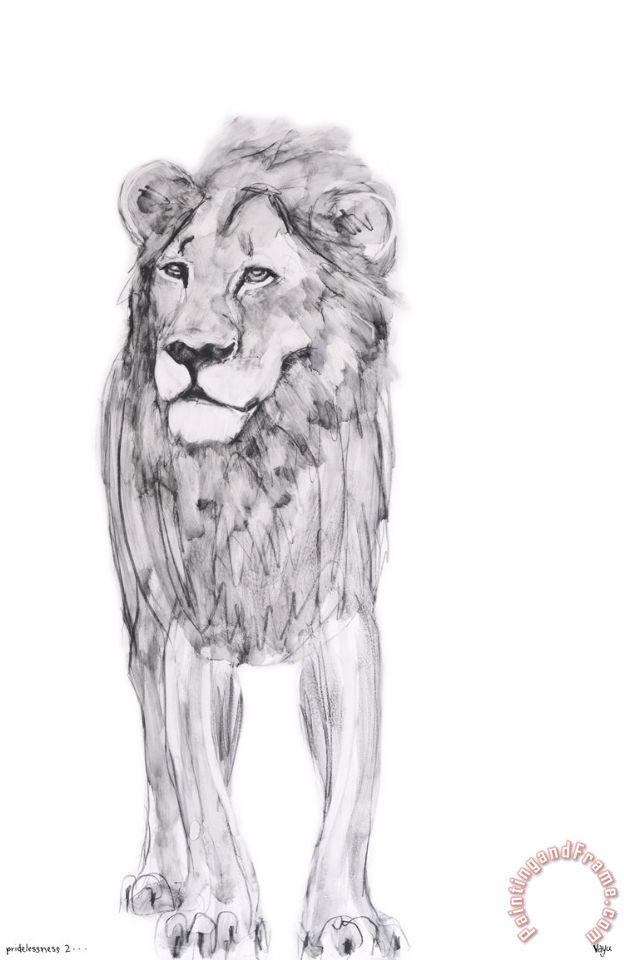 ausue Lion Art Painting