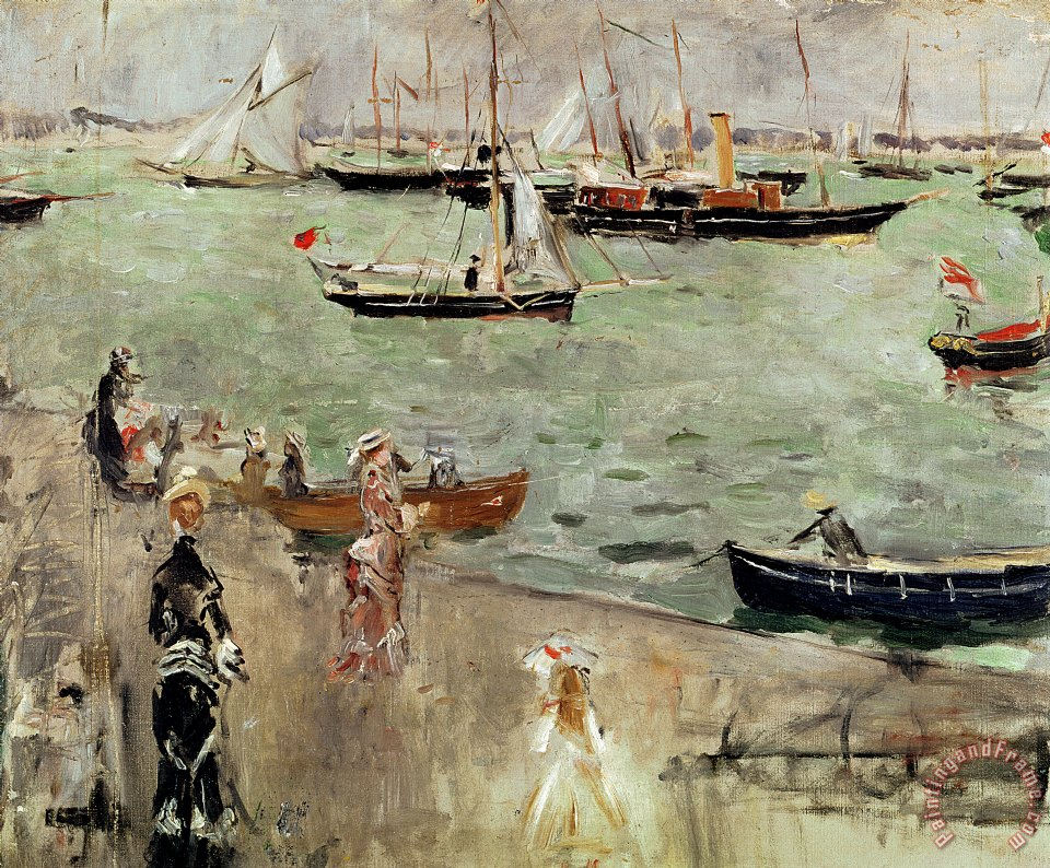 Berthe Morisot The Isle of Wight Art Print