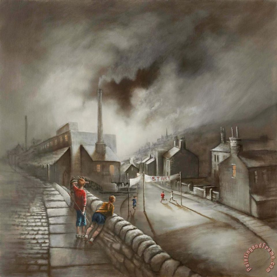 Bob Barker Run of The Mill Art Print