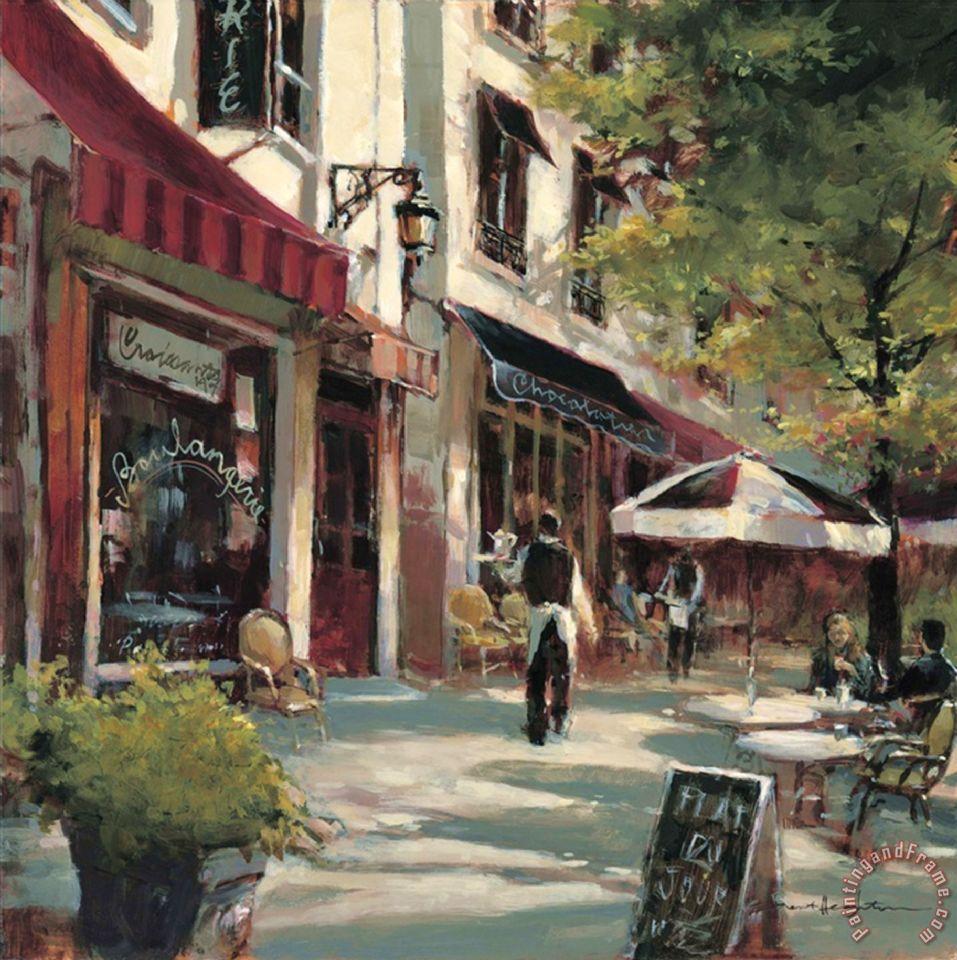 brent heighton boulevard cafe painting   boulevard cafe