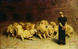 Daniel in the Lions Den by Briton Riviere