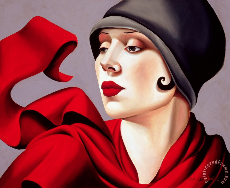 Autumn Zephyr painting - Catherine Abel Autumn Zephyr Art Print