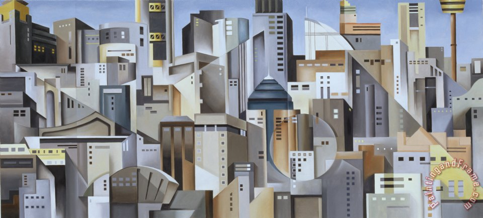 Catherine Abel Composition Looking East Art Painting