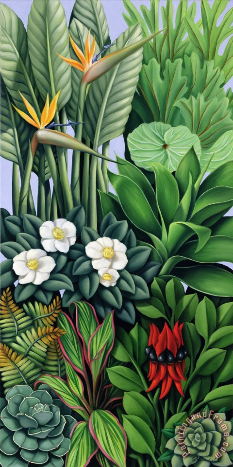 Catherine Abel Foliage II Art Painting