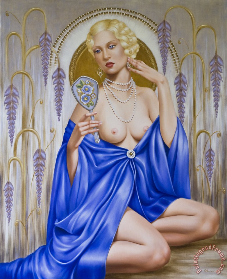 Catherine Abel Rhapsody in Blue Art Print