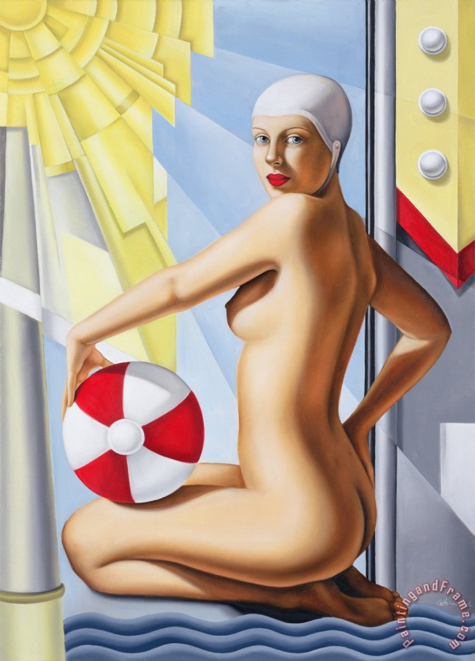 Catherine Abel Sunworshipper I Art Print