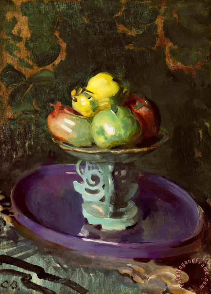 Still Life with Fruit painting - Cecilia Beaux Still Life with Fruit Art Print