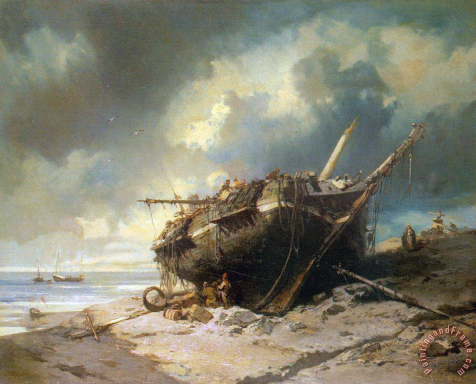 Famous Paintings Of Shipwrecks