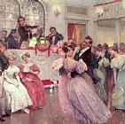 The Ball by Charles Wilda