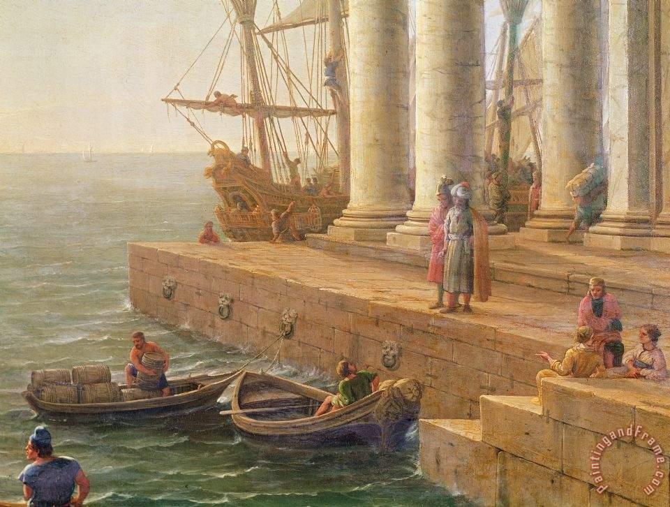 Phaeacia The Odyssey Claude Lorrain Harbor ...