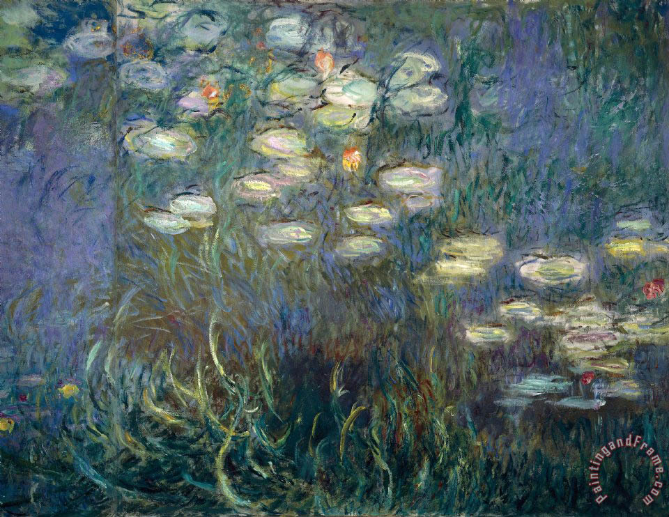 Claude Monet Water Lilies Painting Water Lilies Print For Sale