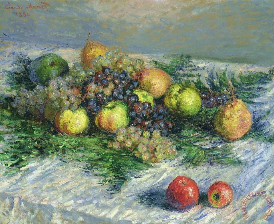 Green Grapes Painting