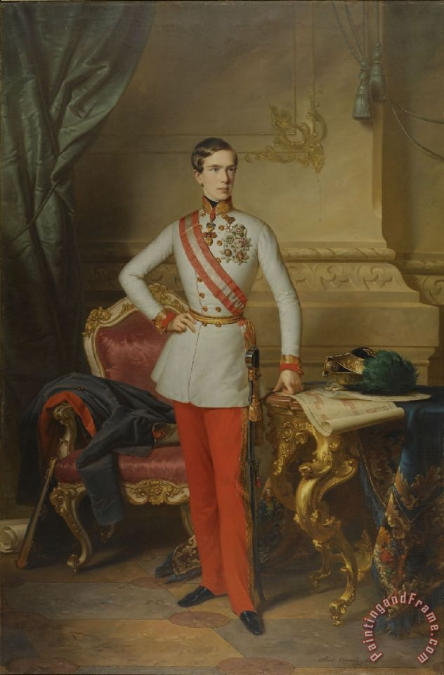 Collection Anton Einsle Kaiser Franz Joseph I Art Print