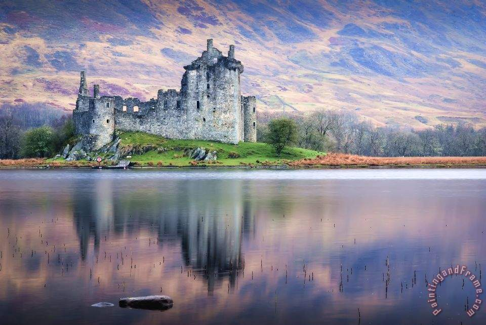 Collection Kilchurn Castle Loch Awe Argyll Painting