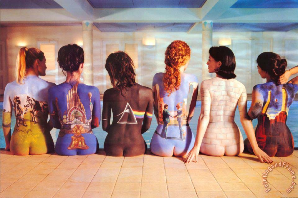 Pink Floyd Back Catalogue painting - Collection Pink Floyd Back Catalogue Art Print