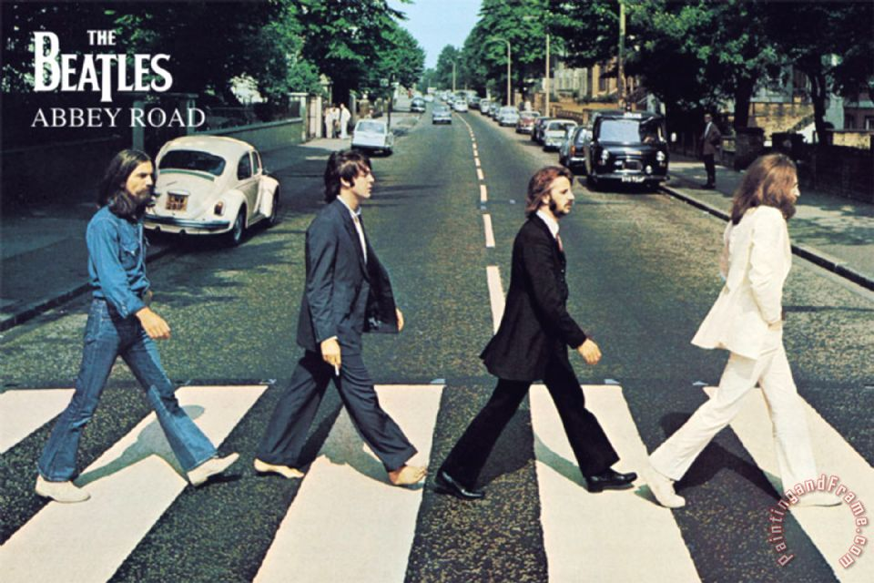 collection the beatles abbey road iiii painting the beatles abbey road iiii print for sale. Black Bedroom Furniture Sets. Home Design Ideas