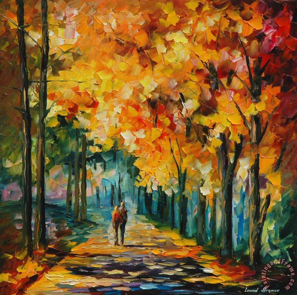 The Gallery For Leonid Afremov Paintings Dancer