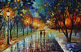 Winter Park by Leonid Afremov