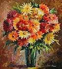 Which One Do You Love Best Prints - Flowers Of Love by Leonid Afremov