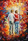 Which One Do You Love Best Prints - Love Walked In by Leonid Afremov