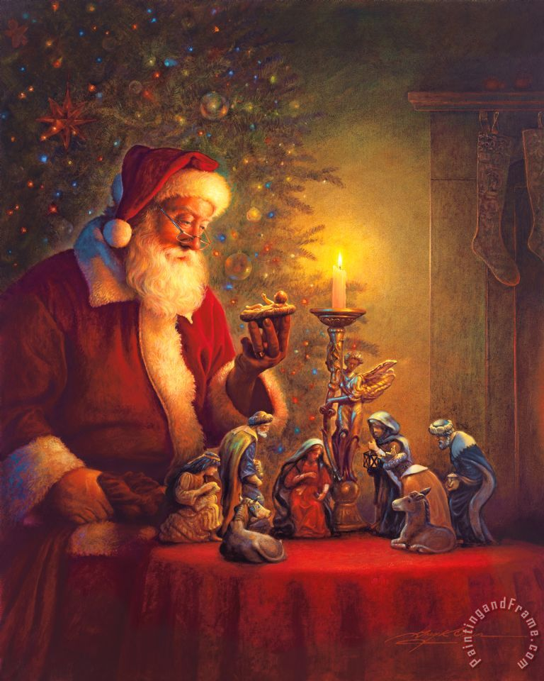 The Spirit Of Christmas painting - Collection 2 The Spirit Of Christmas Art Print