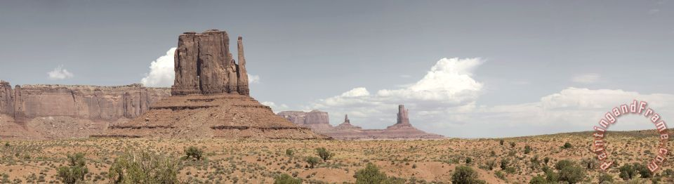 Collection 6 Monument Valley Desert Large Panorama Art Print