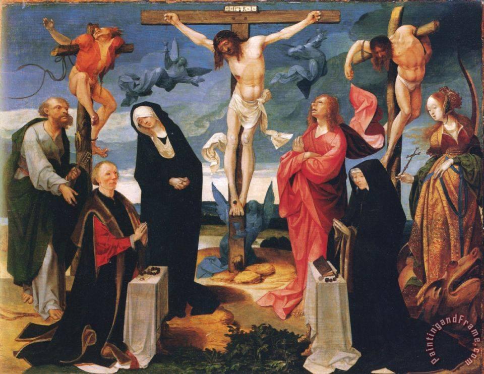 Crucifixion Art Painting