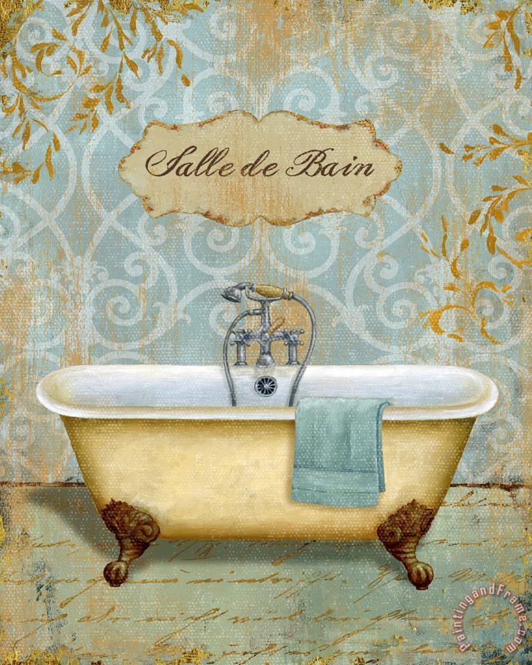 Daphne Brissonnet Salle De Bain I Painting Salle De Bain