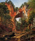 A Natural Bridge in Virginia by David Johnson