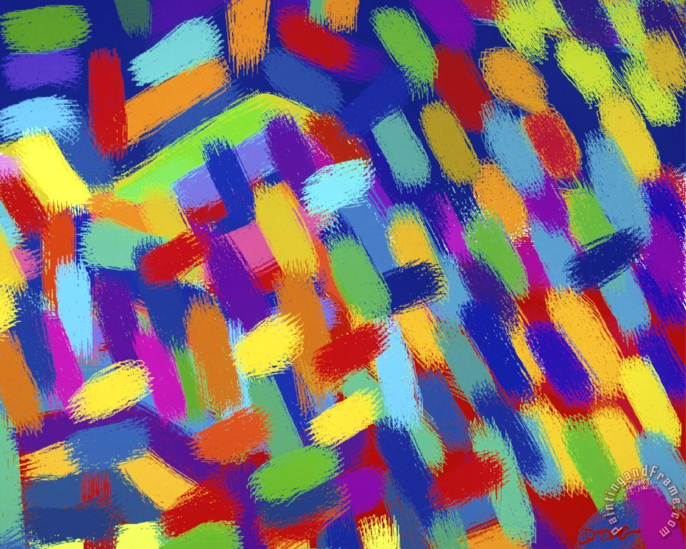 Diana Ong Abstractions painting - Abstractions print for sale