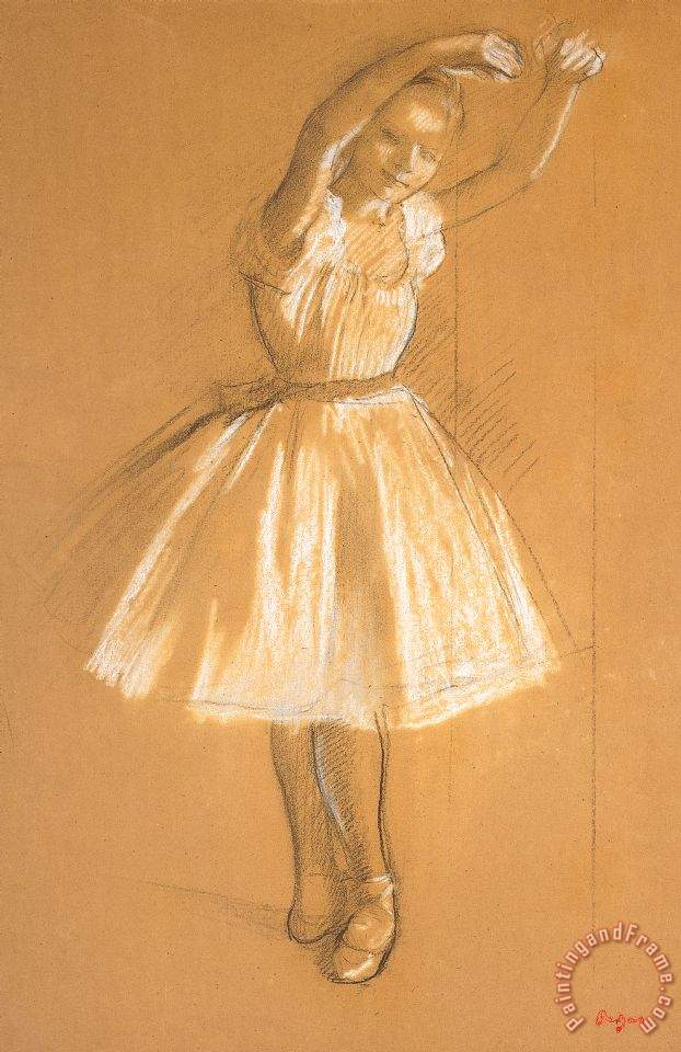 Edgar Degas Little Dancer Art Print