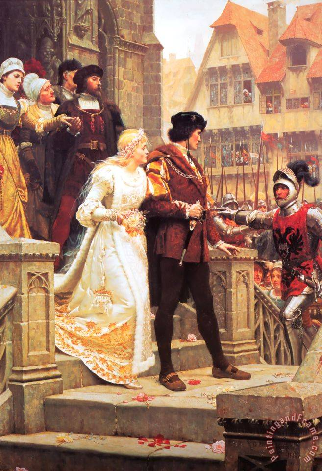 Call to Arms painting - Edmund Blair Leighton Call to Arms Art Print