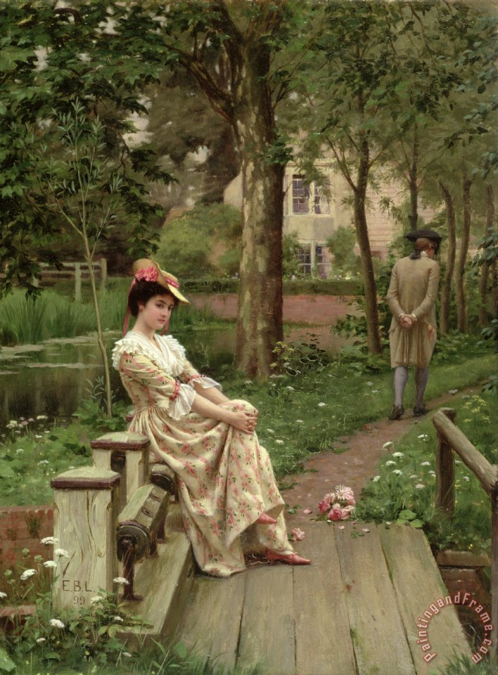 Edmund Blair Leighton Off Art Print