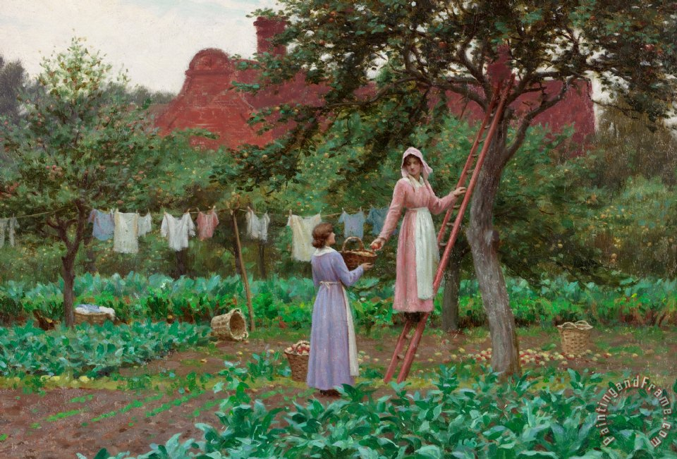 Edmund Blair Leighton September Art Print
