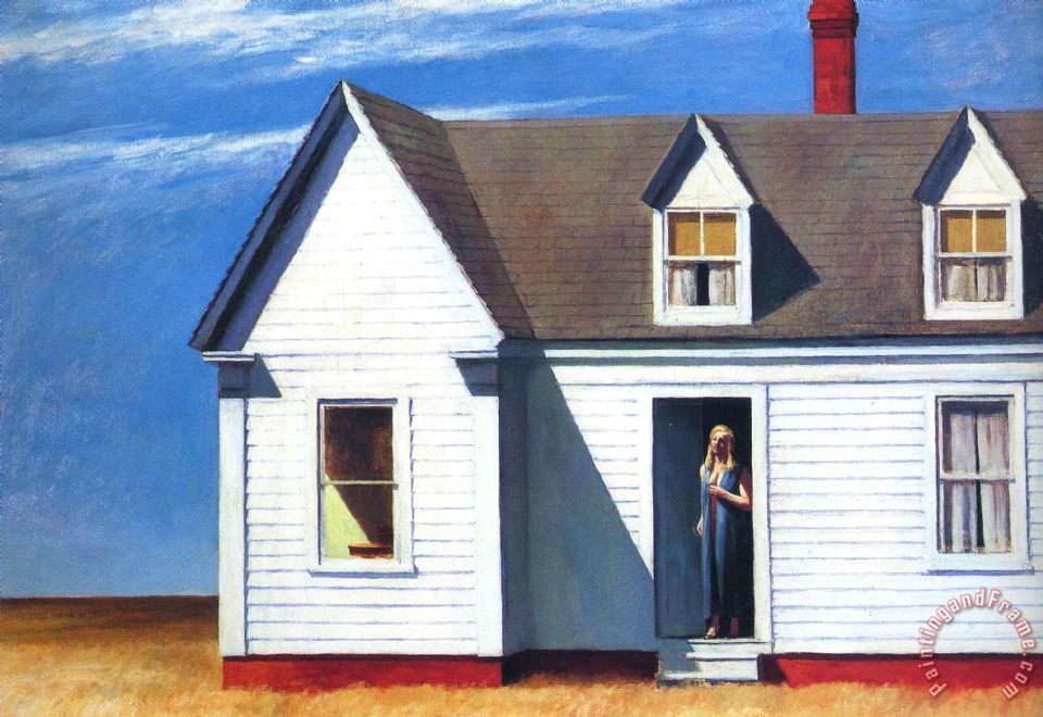 High Noon painting - Edward Hopper High Noon Art Print