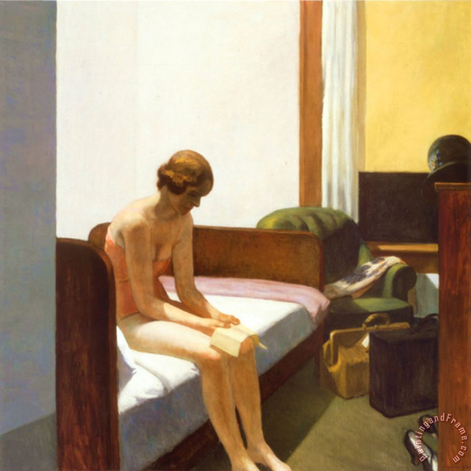 Hotel Room C 1931 painting - Edward Hopper Hotel Room C 1931 Art Print