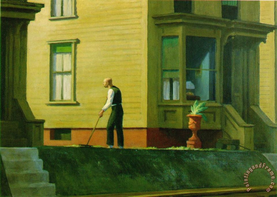 Pennsylvania Coal Town painting - Edward Hopper Pennsylvania Coal Town Art Print
