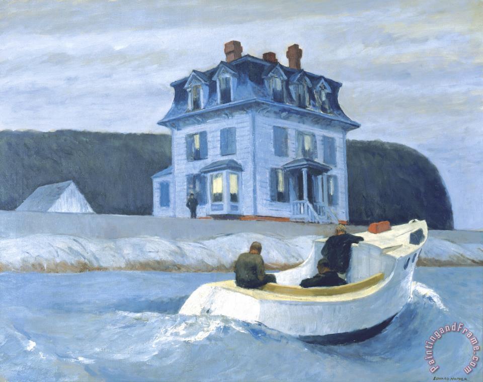 Edward Hopper The Bootleggers Painting The Bootleggers