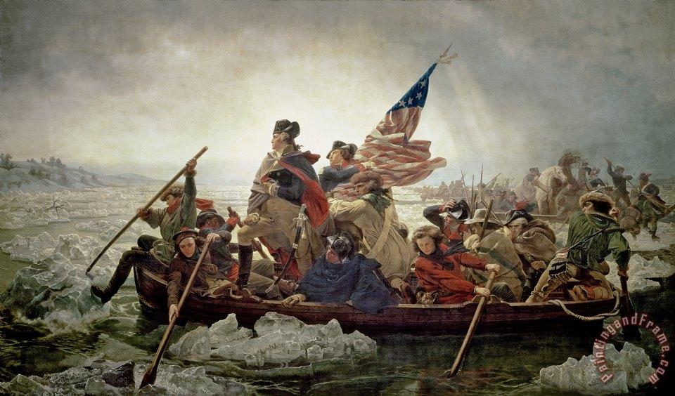 Emanuel Gottlieb Leutze Washington Crossing The Delaware